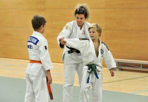 Jeugd Judo Les