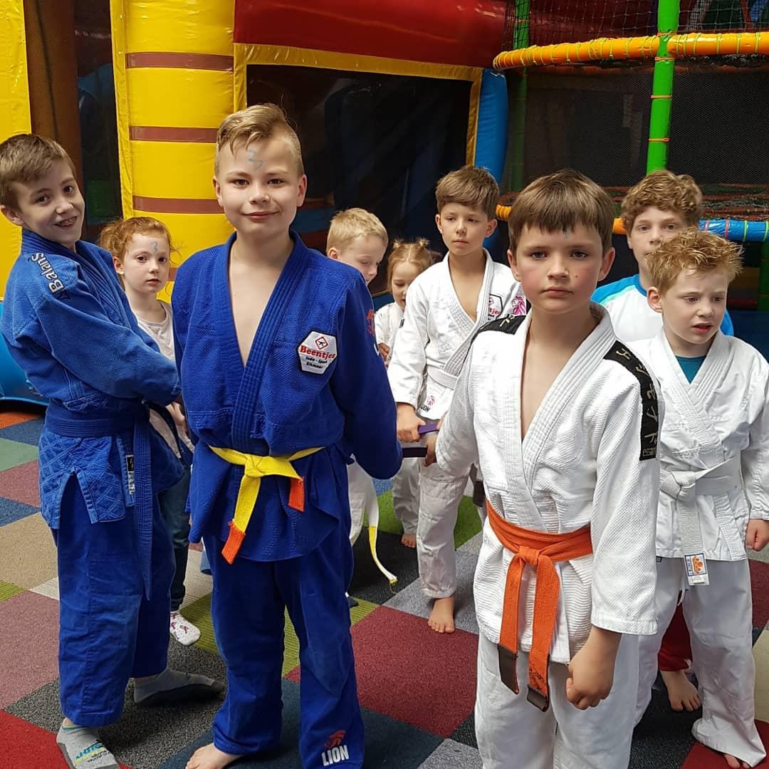 Judopakken van Beentjes Judo-Sport