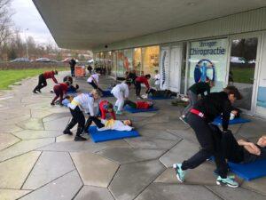 trainen in Corona tijd